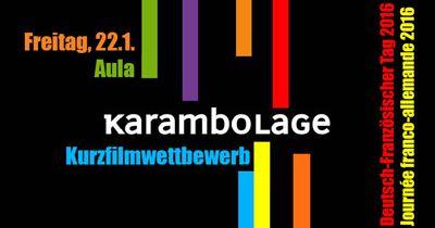 "Kurzfilmwettbewerb ""à la Karambolage"""