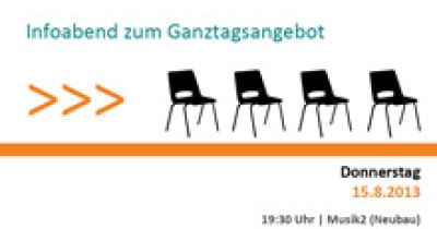 Infoabend Ganztagsangebot