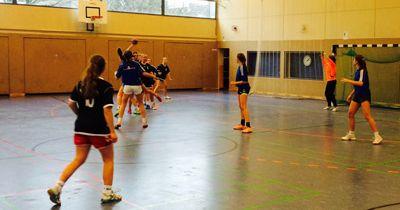 Handballerinnen erreichen das Landesfinale bei Jugend trainiert für Olympia!