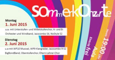 Sommerkonzerte 2015