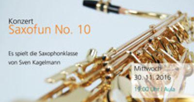 Saxofun No. 10