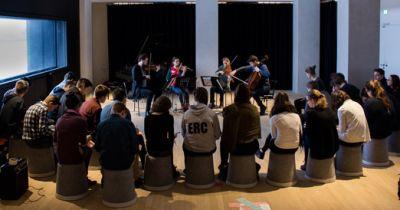 Workshop in der Elbphilharmonie